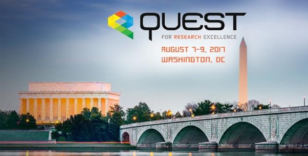 Quest for research excellence banner