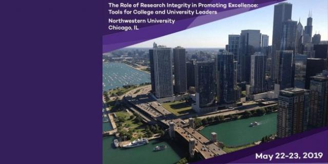Cityscape of Chicago.  Northwestern, CGS, and ORI conference for university leaders